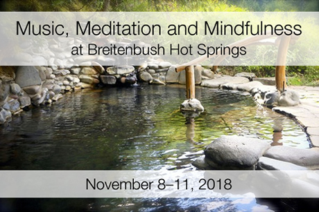 Breitenbush Retreat: November 8-11, 2018