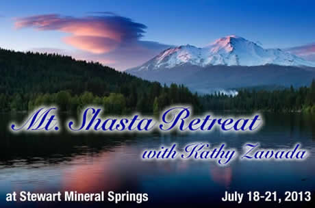 Shasta Retreat: July 18-21, 2013